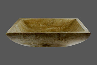 RECTANGULAR TRAVERTINE SINK   CLASSIC BEIGE ...