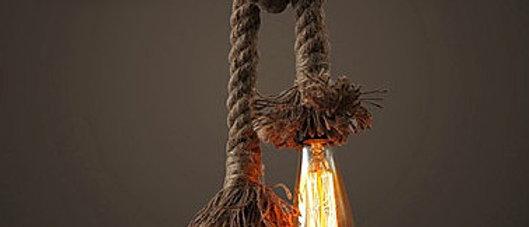 Nollit Rope Twin Lamp
