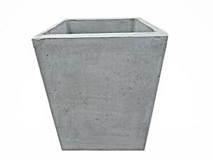 Concrete Tall Square Planter