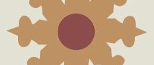 ARISTOS VI  7-3/4 in. x 7-3/4 in. Cement Tile (4.30 sq. ft. / case)