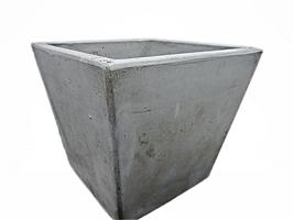 Concrete Short Tapered Planter