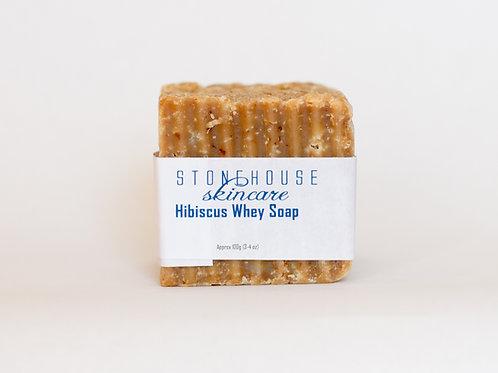 Hibiscus Whey Soap