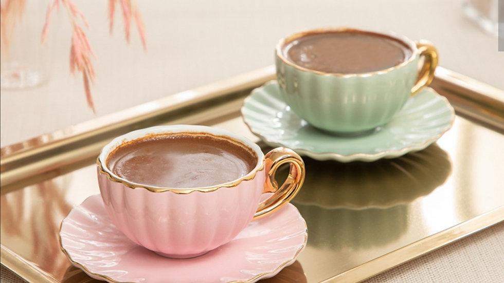 Madeleine Espresso Cup and Saucer