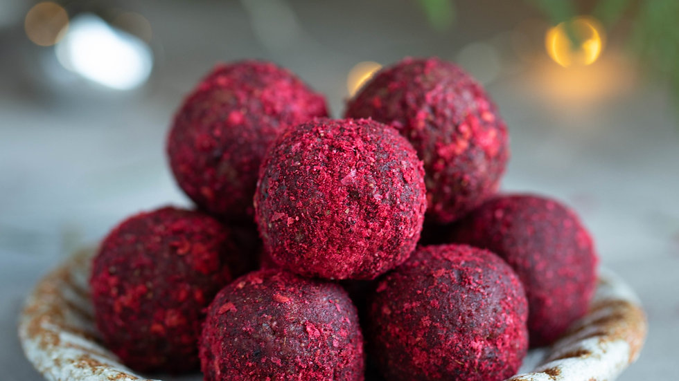 Ruby Chocolate Truffles