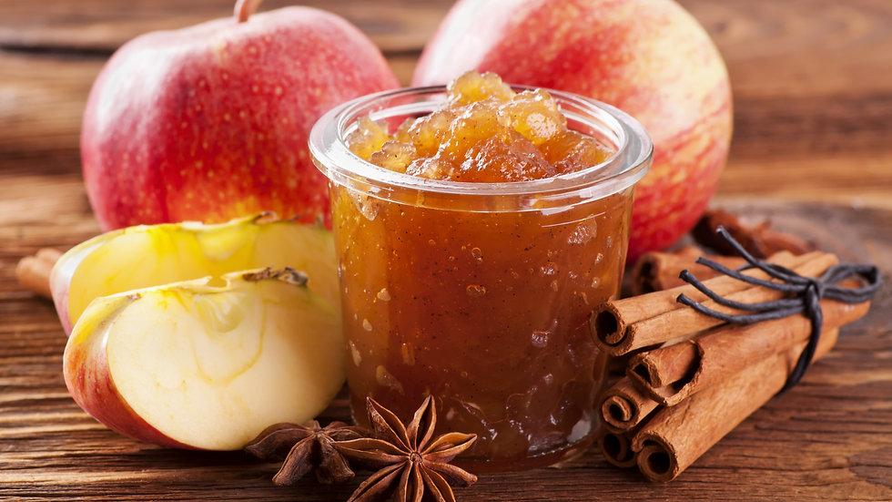 Homemade Apple & Walnut & Cinnamon Jam