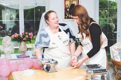 Bridal shower - ravioli making