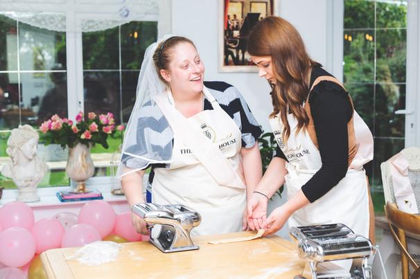 Bridal shower fun at The Dough House