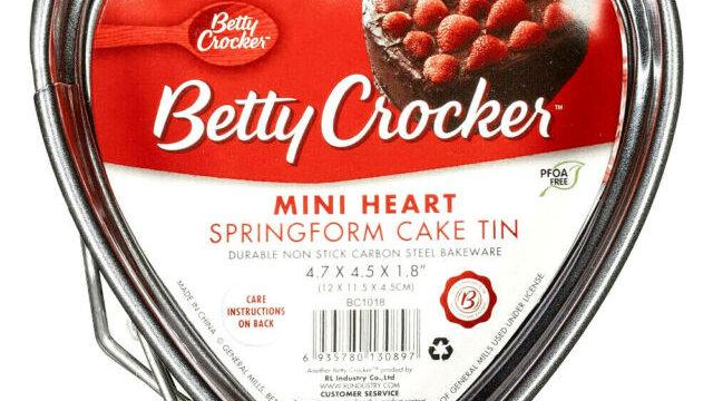 Mini Heart Springform Cake Tin