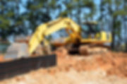 excavation dump truck grading construction utilities