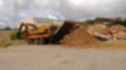 Línea de valorización, astillado y clasificación de residuos de madera