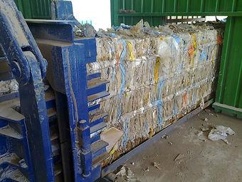 Línea de selección, valorización y compactación de residuos no peligrosos