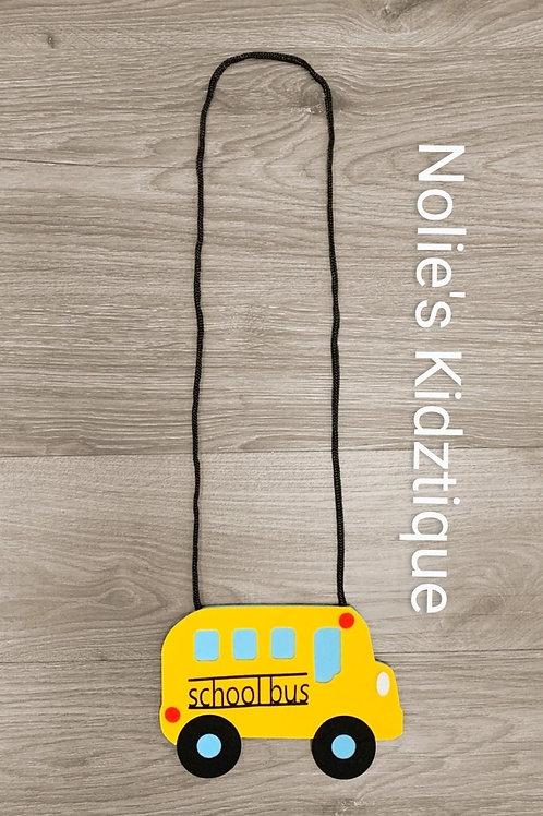 School Bus Purse