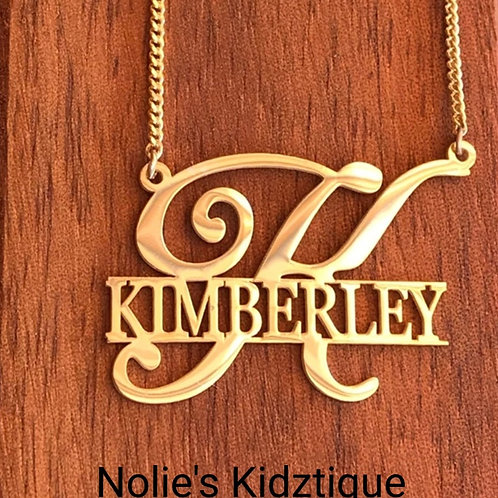 Nolie's Big First Personalized Necklace