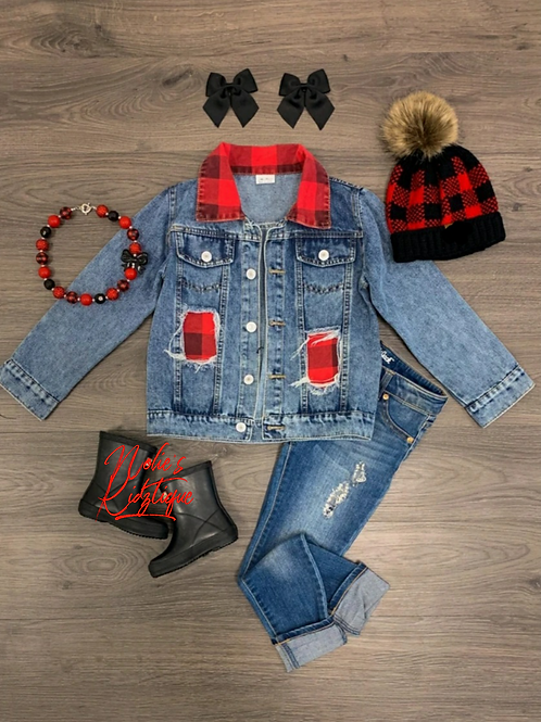 DISTRESSED BUFFALO JACKET