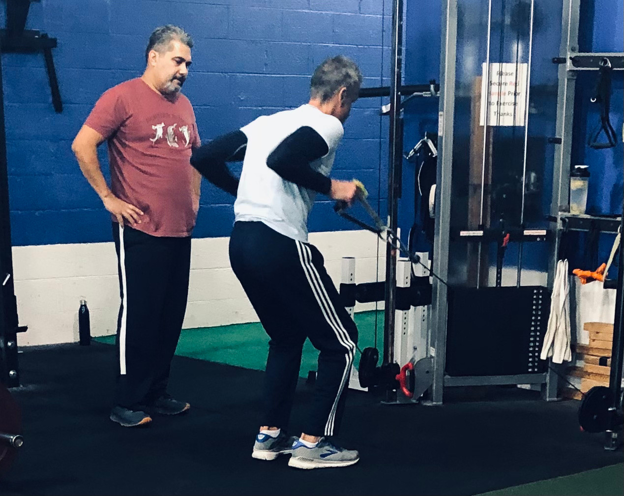 Our trainer Tom Lengyel