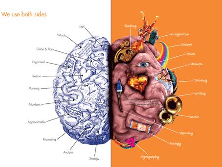 Right Brain, Left Brain? No Pain = Whole Brain