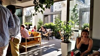 Indoor/Outdoor Seating