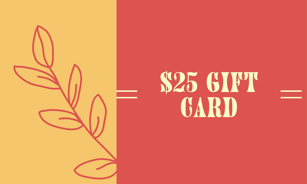 $25 Giftcard