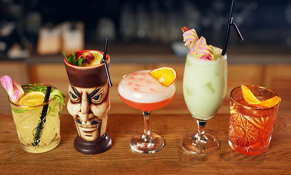 The Birth & History of Tiki Cocktails Course