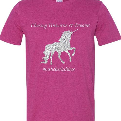 Chasing Unicorns Glittery Tee