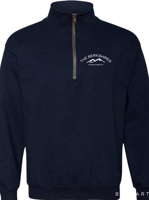 Berkshire Mountains Quarter Zip Sweatshirt