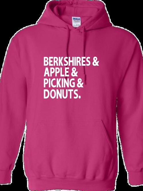 Berkshires & Apple & Picking & Donuts Hoodie