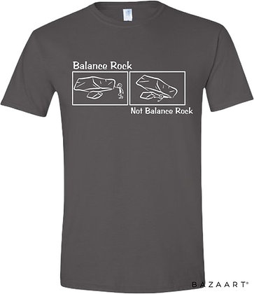 Balance Rock Comic Tee
