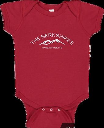 Berkshire Mountains Baby Onesie