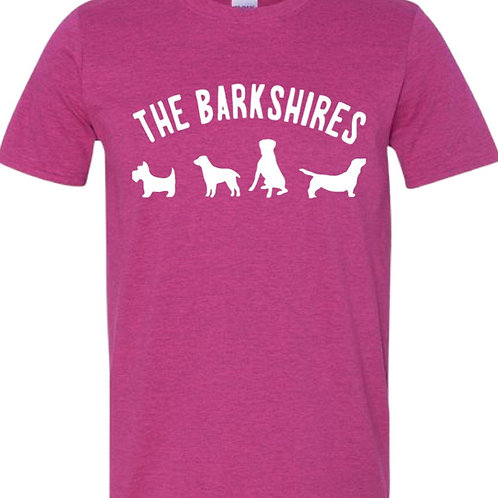 """The Barkshires"" Dog Lover Tee"