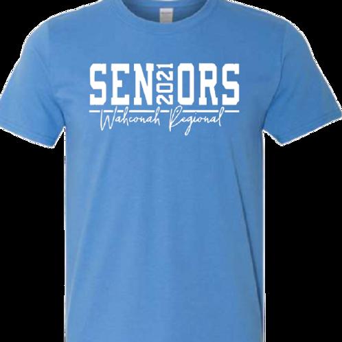 Wahconah 2021 Seniors Tee