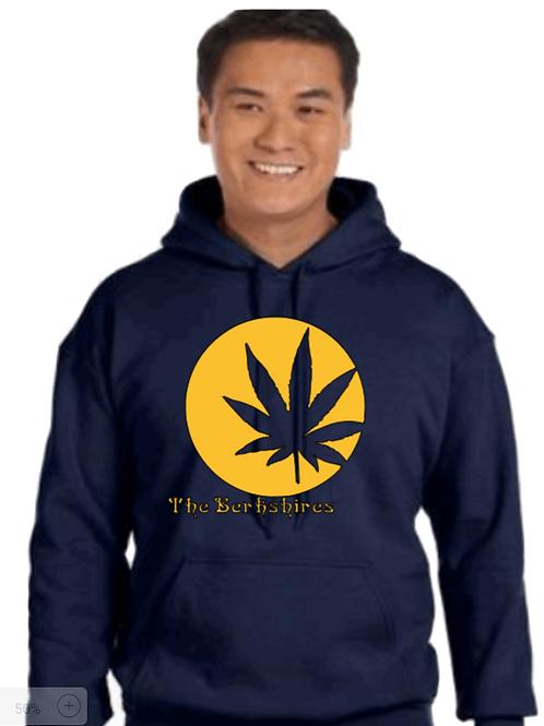 The Berkshires Pot Leaf Hoodie