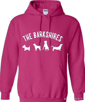"""""""The Barkshires"""" Dog Lover Hoodie"""