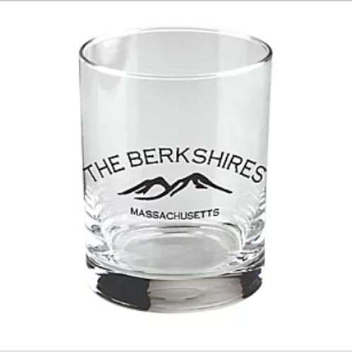 Berkshires Mountains Whiskey Rocks Glass (set of 2)