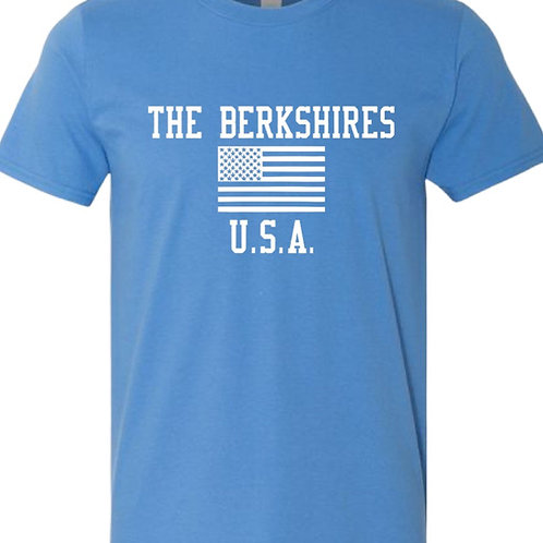 The Berkshires USA Tee