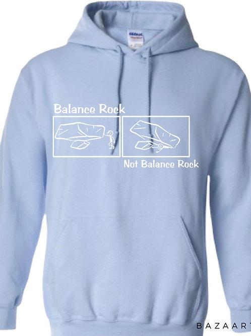 Balance Rock Comic Hoodie