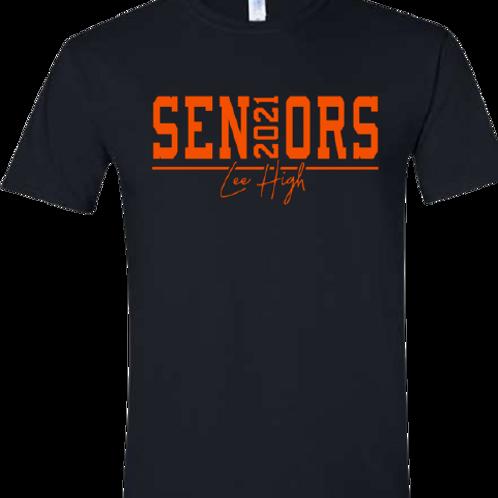 Lee High 2021 Seniors Tee Alternate