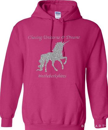Chasing Unicorns Glittery Hoodie