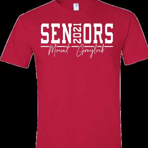 Mount Greylock 2021 Seniors Tee