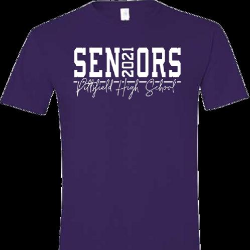 Pittsfield High 2021 Seniors Tee