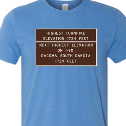 Mass Turnpike Highest Elevation