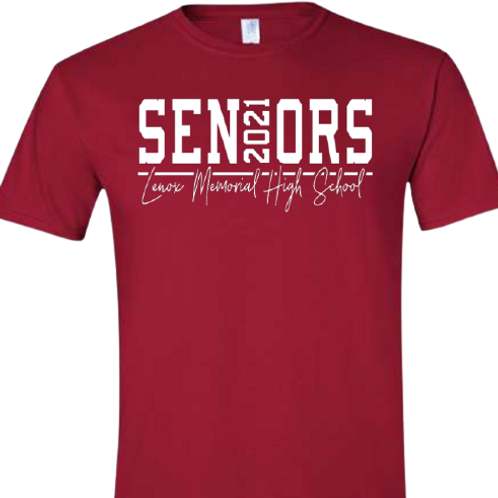 Lenox 2021 Seniors Tee