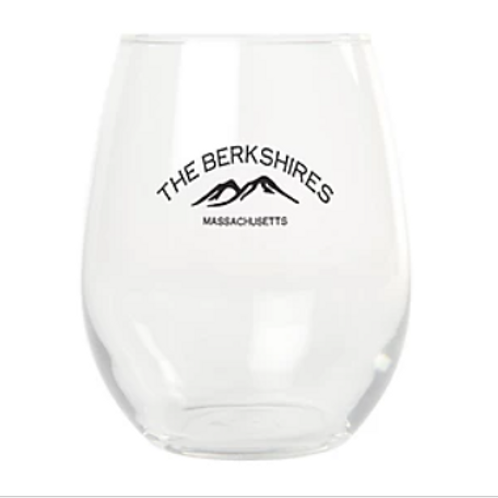 Berkshire Mountains Stemless Wine Glass (set of 2)