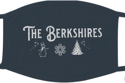 The Berkshire Wintery Theme Glittery Mask
