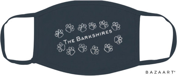 The Barkshires Glittery Mask