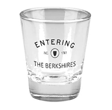 """Entering the Berkshires"" Shot Glass (set of 2)"