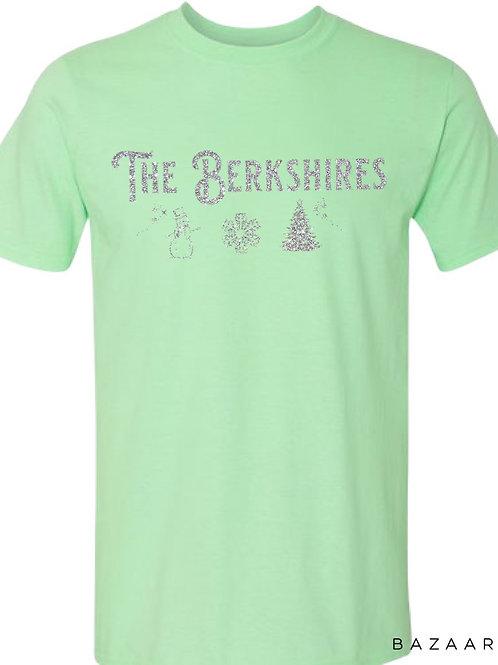 The Berkshires Winter Glittery Tee