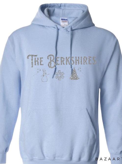 The Berkshires Winter Glittery Hoodie