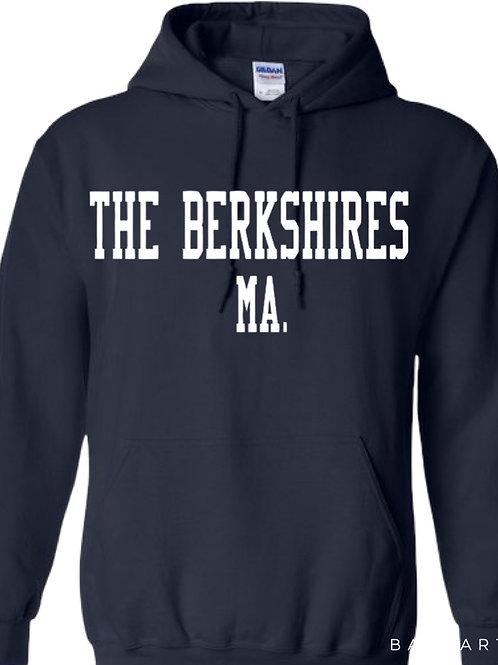 The Berkshires Varsity Style Hoodie
