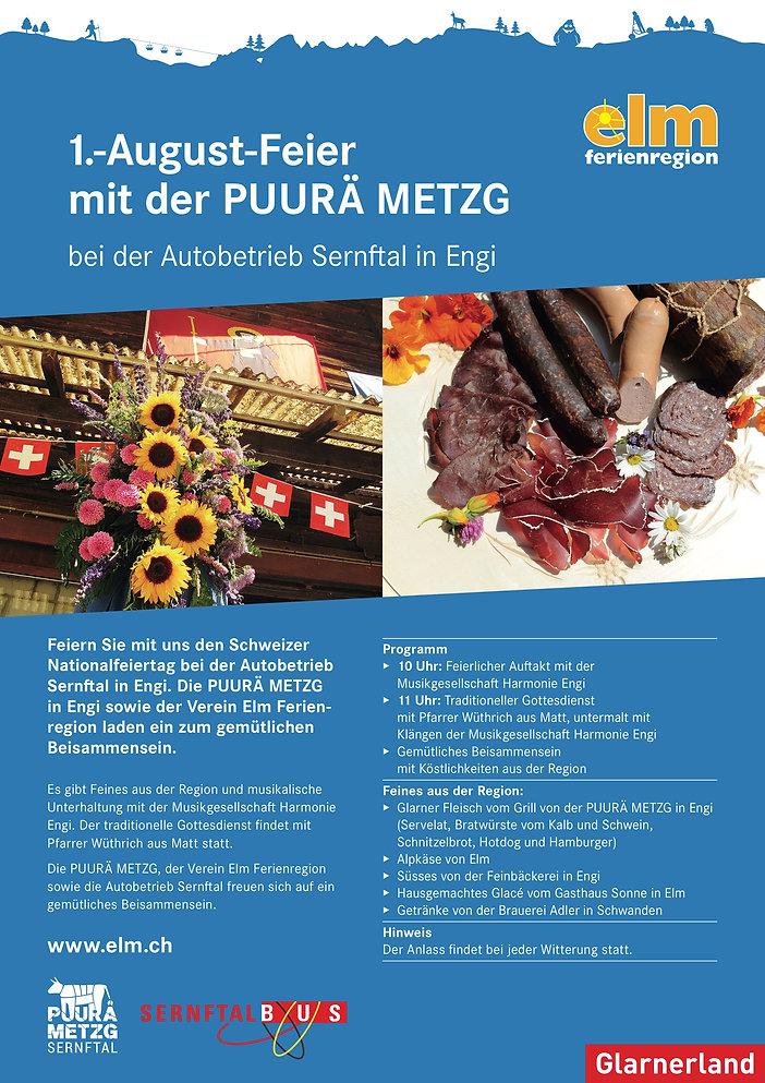 Flyer 1. August Feier mit der Puurä Metzg.jpg