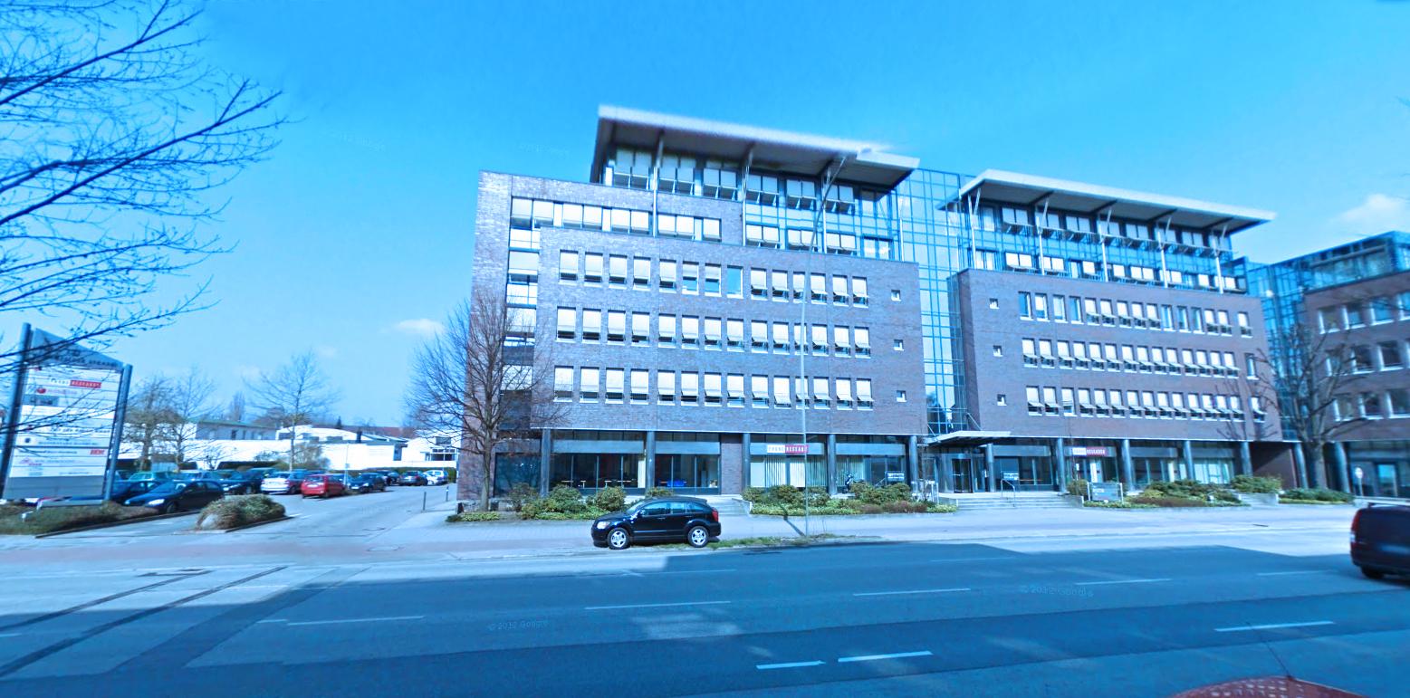 Modernes Bürogebäude, Bramfelder Straße 113, Hamburg-Barmbek Nord